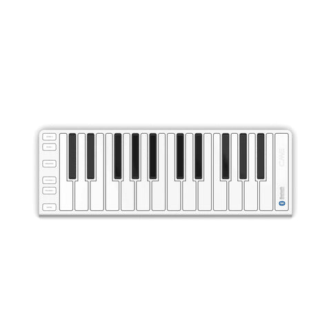 XKey 25-Key Air Bluetooth Keyboard Silver