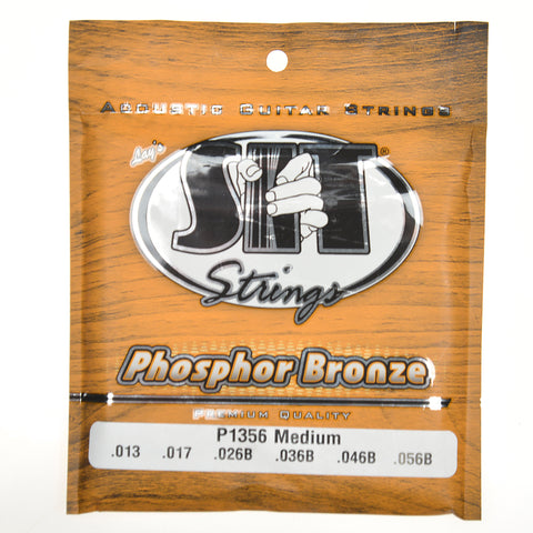 S.I.T. Phosphor Bronze Acoustic Strings 13-56