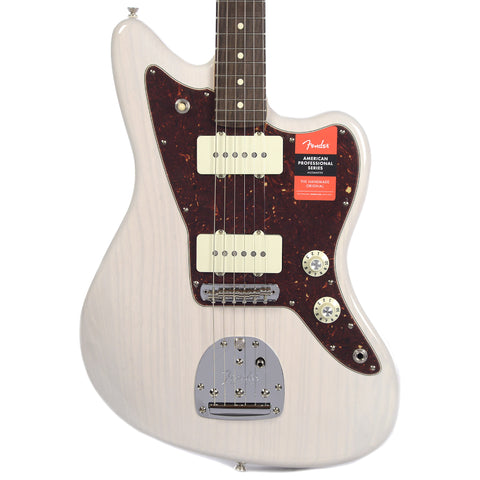 Fender American Pro Jazzmaster Ash RW White Blonde Limited Edition w/Tortoise Pickguard (CME Exclusive) Pre-Order
