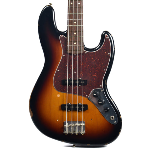Fender Road Worn 50's Jazz Bass RW 3 Color Sunburst
