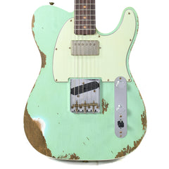 Fender Custom Shop 1960s Telecaster Custom Heavy Relic Hot Rod Super Faded Aged Surf Green