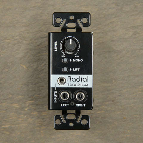 Radial StageBug SB-5W Wallmount DI USED