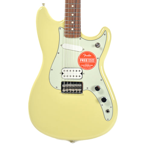 Fender Offset Series Duo Sonic HS PF Canary Diamond
