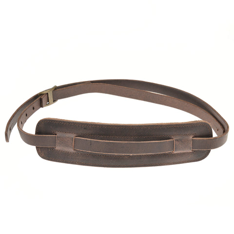 Tackle Leather Guitar Strap Brown