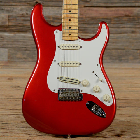 Fender American Vintage Hot Rod '57 Stratocaster MN Candy Apple Red 2007 (s826)