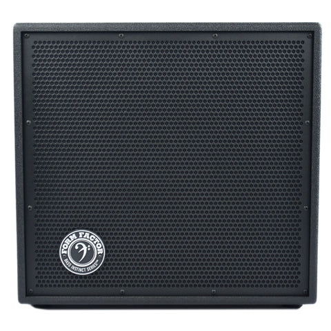 Form Factor 1B12-8 1x12 Ceramic Bass Speaker Cabinet, 8 Ohm