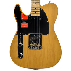 Fender American Pro Telecaster Ash LEFTY MN Butterscotch Blonde