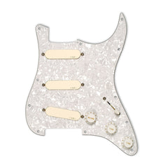 EMG DG20 David Gilmour Pre-Wired Pickguard/Pickup Set Ivory