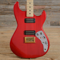 G&L F-100 Transparent Red 1981