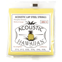 Asher Acoustic Hawaiian Lap Steel Strings Phosphor Bronze Medium 14-58
