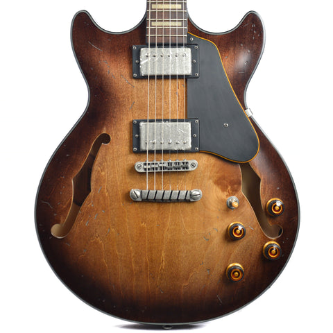 Ibanez AMV10ATCL Artcore Vintage Tobacco Burst Low Gloss Floor Model