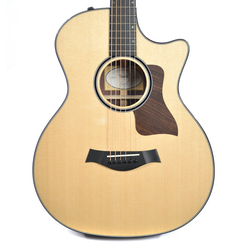 Taylor Custom 12 Fret Grand Auditorium Sitka Spruce/AA Indian Rosewood Cutaway Acoustic-Electric