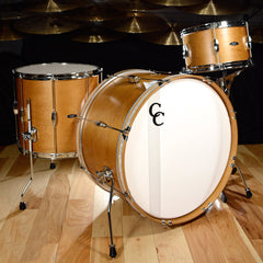 C&C Player Date 2 3pc Big Band Drum Kit 13/16/24 Aged Maple