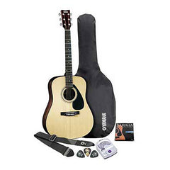 Yamaha Gig Maker Deluxe Guitar Package w/FD01S Acoustic Guitar