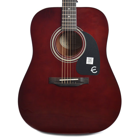 Epiphone PRO-1 Dreadnought Acoustic Wine Red