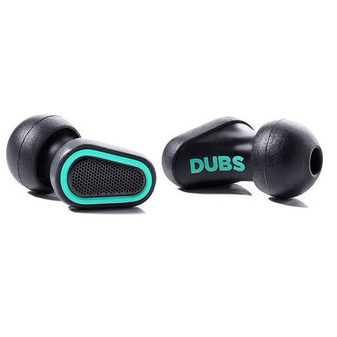 DUBS Acoustic Filter Earplugs Green