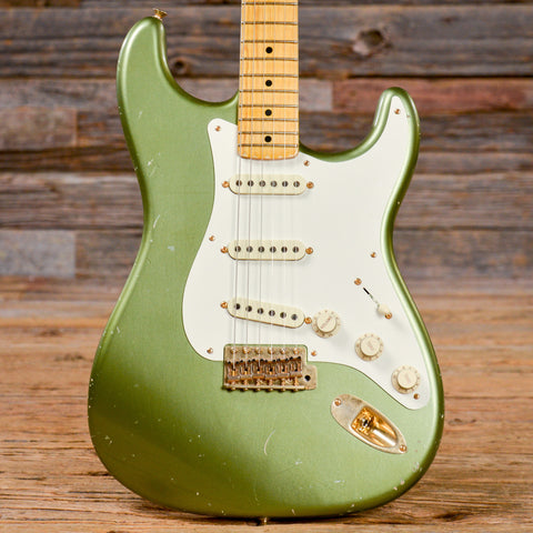 Fender CS Todd Krause Master Design 50s Stratocaster Moss Green Relic USED (s402)