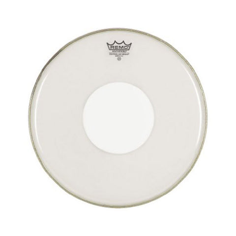 "Remo 16"" Controlled Sound White Dot Clear"