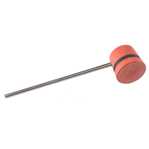 Low Boy Red Black Stripes Lightweight Bass Drum Beater
