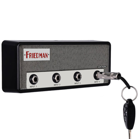 Pluginz Friedman Dirty Shirley Jack Rack w/Four Keychains and Mounting Hardware Kit