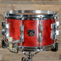 Tama 8x14 Mastercraft Artwood Snare Drum Cherry Wine Early 1980s USED