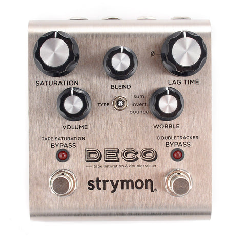 Strymon Deco Tape Saturation & Doubletracker Pedal