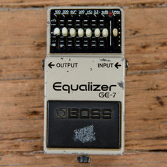 Boss GE-7 Equalizer MIJ USED
