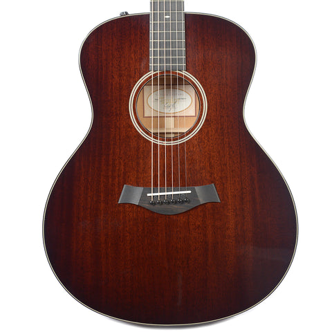 Taylor 526e Grand Symphony Tropical Mahogany Shaded Edgeburst ES2 Floor Model