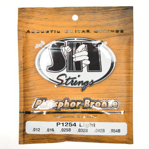 S.I.T. Phosphor Bronze Acoustic Strings 12-54