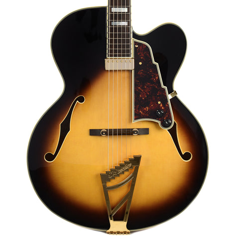 D'Angelico EXL-1 Hollowbody Electric Guitar Vintage Sunburst