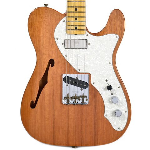 Fender CS 1969 Telecaster Thinline HS Mahogany Journeyman Relic MN Natural (Serial #R88475)