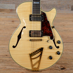 D'Angelico EX-SS Dual Pickup Single Cutaway Natural 2015 (s182)