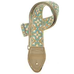 "Souldier Lotus TL/White 2"" Strap (Taupe Belt & Taupe Ends)"