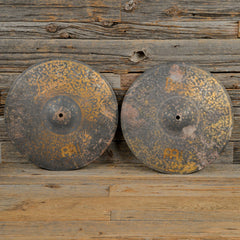 "Meinl 15"" Byzance Vintage Pure Hi-Hats Pair USED"