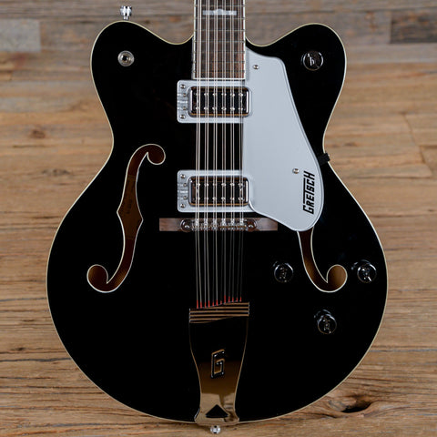 Gretsch G5422DC-12 Electromatic Hollow Body Double Cutaway Black 2015 (s088)