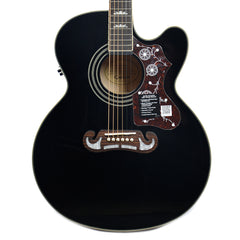 Epiphone EJ-200SCE Solid Top Acoustic-Electric Black