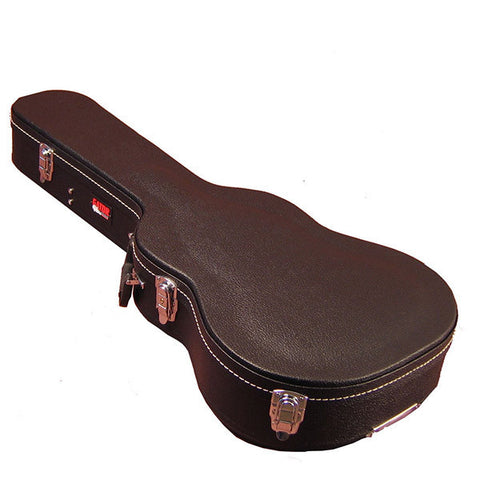 Gator Wood 3/4 Sized Acoustic Guitar Case - Black Tolex