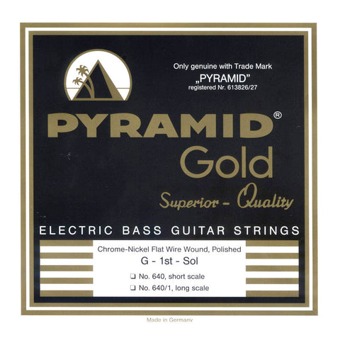 Pyramid Gold 640B Bass Flatwound Long Scale 4-String 50-110