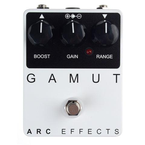 Arc Effects Gamut Booster Pedal