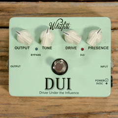 Whitfill DUI Overdrive USED
