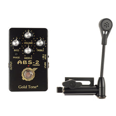 Gold Tone ABS Banjo Resonator Guitar Condenser Mic System