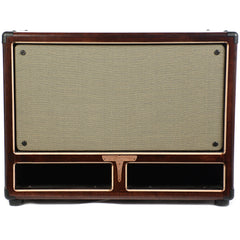 Tyrant Tone 2x10 Bass Cab Mahogany and Salt & Pepper Grill