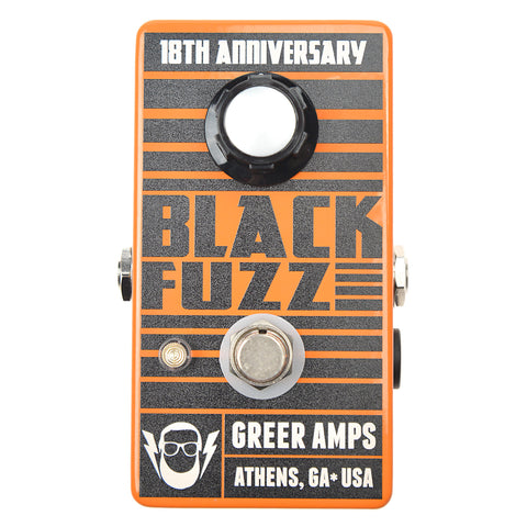Greer Amps Black Fuzz 18th Anniversary Limited Edition