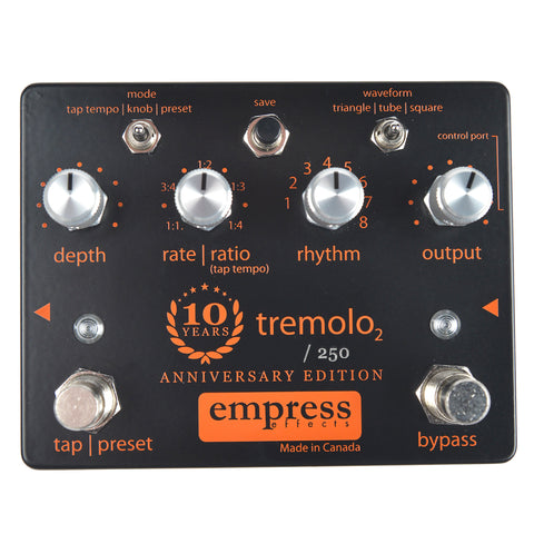 Empress Tremolo2 10 year Anniversary Limited Edition (Limited to 250)