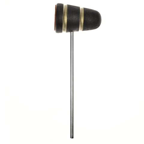Low Boy Black Gold Sparkle Leather Daddy Bass Drum Beater