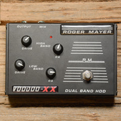 Roger Mayer Voodoo XX Dual Band HDD Overdrive USED