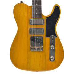 B3 Phoenix Korina Antique Yellow Light Distress w/Lollar Mini/Mini/T Pickups