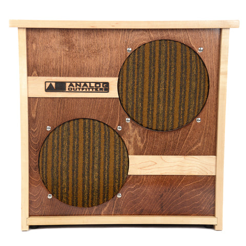 Analog Outfitters 2x10 40W 4/16ohm Speaker Cabinet (Serial #47)