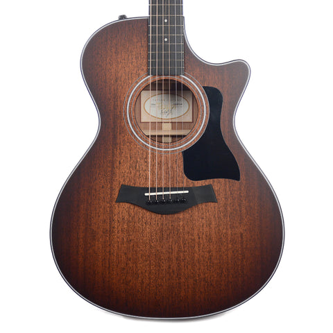 Taylor 322ce-SEB Grand Concert Mahogany/Sapele Shaded Edge Burst ES2 Scratch and Dent