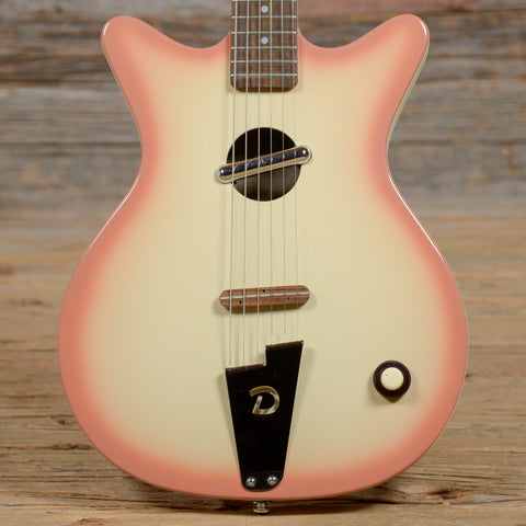 Danelectro Convertible Copper Burst 1990s (s280)